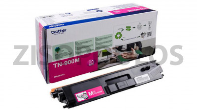 BROTHER  TONER TN-900M CARTRIDGE ORIGINAL MAGENTA