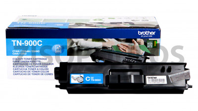 BROTHER  TONER TN-900C CARTRIDGE ORIGINAL CYAN