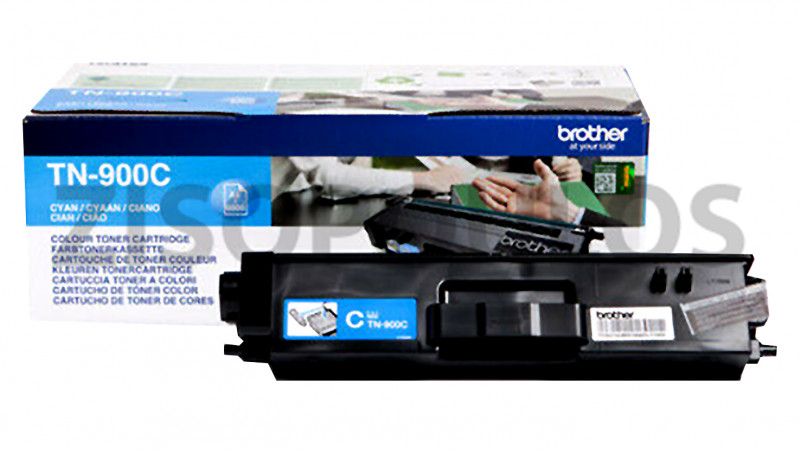 BROTHER TONER CARTRIDGE TN 900 CYAN 4977766735100