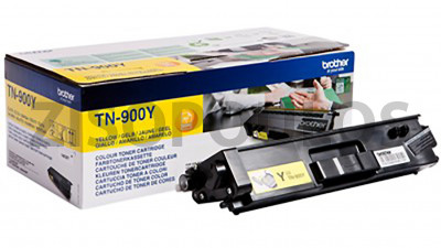 BROTHER  TONER TN-900Y CARTRIDGE ORIGINAL YELLOW