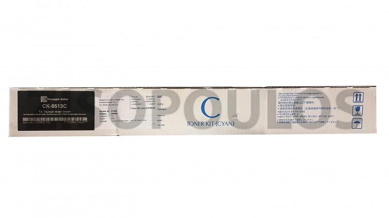 TRIUMPH ADLER TONER CK 8513 CYAN 1T02RMCUT0