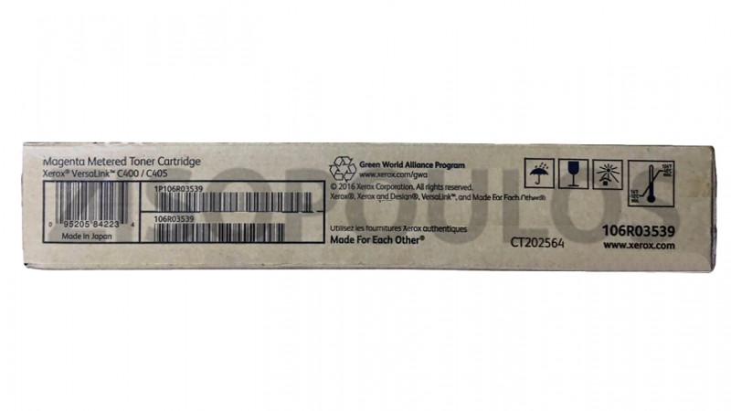 XEROX TONER CARTRIDGE 106R03539 MAGENTA METERED