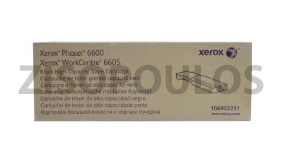XEROX  TONER  HC YELLOW 106R02231