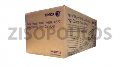 XEROX  TONER CARTRIDGE PHASER 4600 BLACK 106R01535