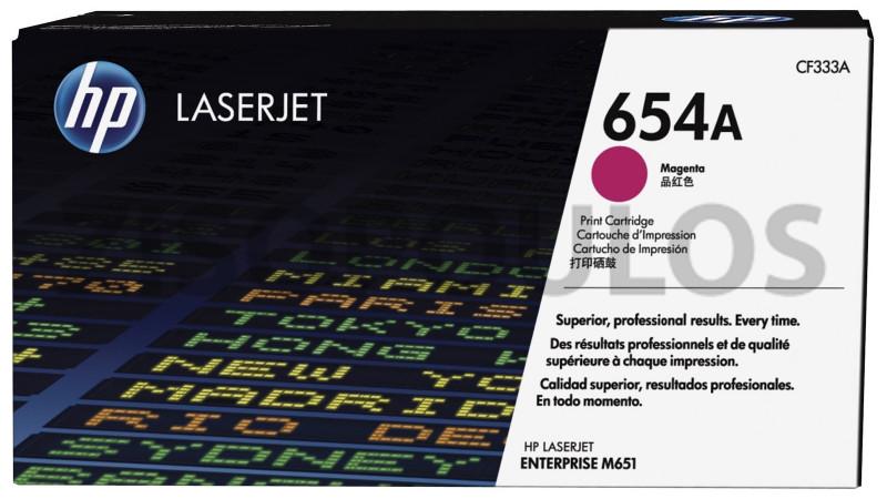 HP TONER LASERJET 654A MAGENTA CF333A