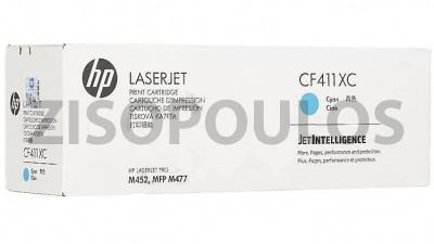 HP TONER 410XC CYAN CF411XC