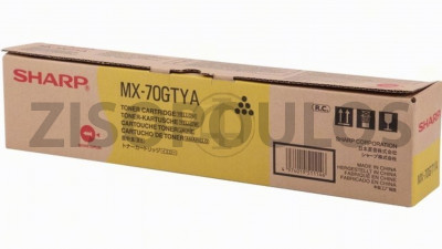 SHARP  TONER MX-70GTYA YELLOW