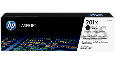 HP TONER 201X BLACK HIGH YIELD CF400X