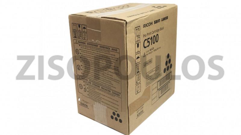 RICOH TONER CARTRIDGE PRO C 5100S BLACK 828402