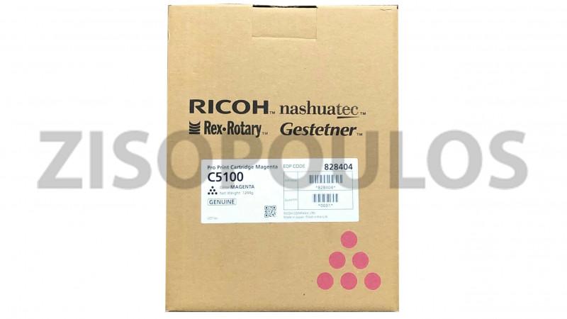 RICOH TONER CARTRIDGE PRO C 5100S MAGENTA 828404