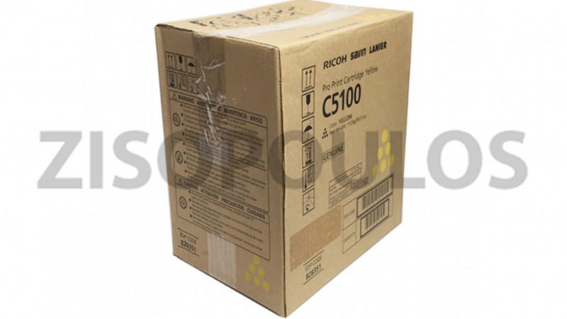 RICOH TONER CARTRIDGE PRO C 5100S YELLOW 828403