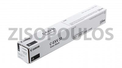 CANON  TONER CARTRIDGE C-EXV51 BLACK 0481C002