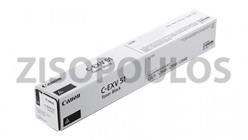 CANON TONER CARTRIDGE CEXV 51 BLACK 0481C002