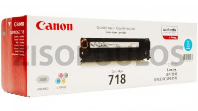 CANON  TONER 718 CYAN 2661B002