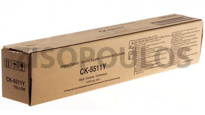 TRIUMPH ADLER TONER CK 5511 YELLOW 1T02R5ATA0