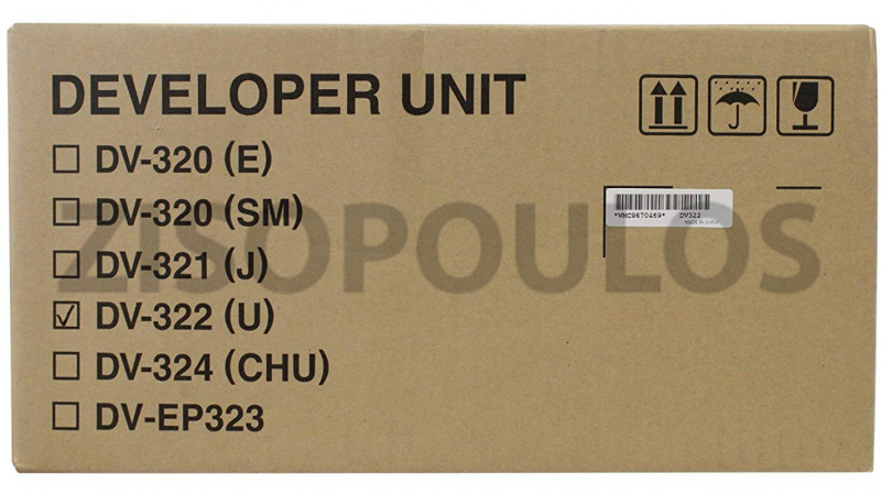 KYOCERA DEVELOPER ASSEMBLY DV322 302F993030