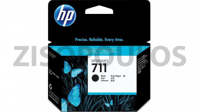 HP INK CARTRIDGE HP 711 BLACK CZ133A