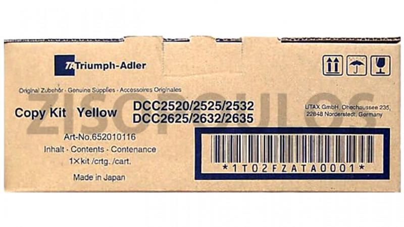 TRIUMPH ADLER TONER DCC 2025/2035/2130/2140/2150 YELLOW 652010116