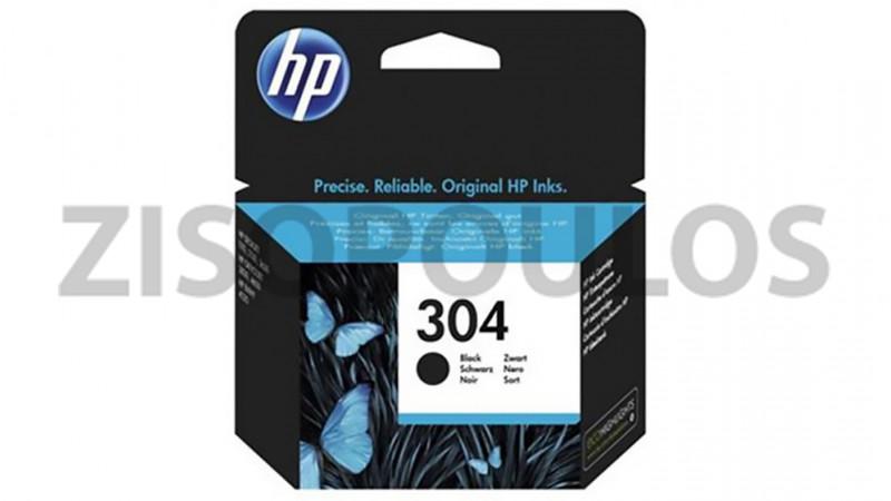 HP INK CARTRIDGE 304 BLACK N9K06AE