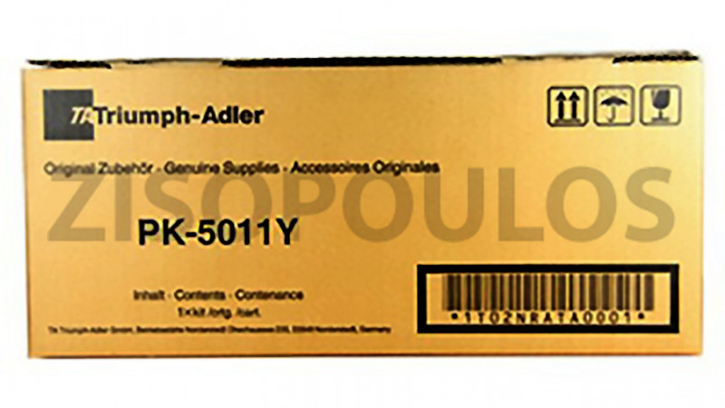 TRIUMPH ADLER TONER PK 5011 YELLOW 1T02NRATA0