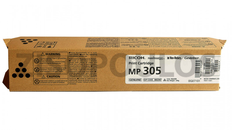 RICOH TONER MP 305+ BLACK 842347