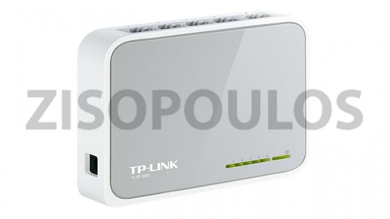 TP LINK SWITCH TL-SF1005D 10/100MBPS 5-PORT V16.0