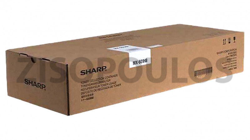 SHARP TONER COLLECTION CONTAINER MX601HB