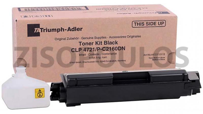 TRIUMPH ADLER TONER CLP 4721 BLACK 4472110115
