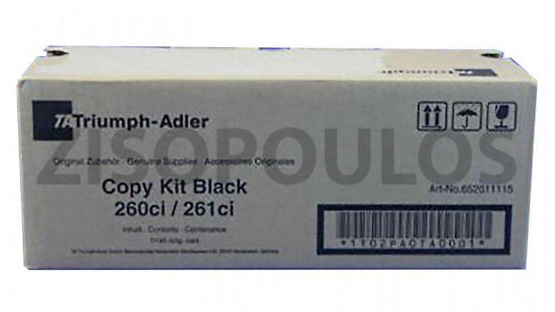 TRIUMPH ADLER TONER 260CI/261CI BLACK 652611115