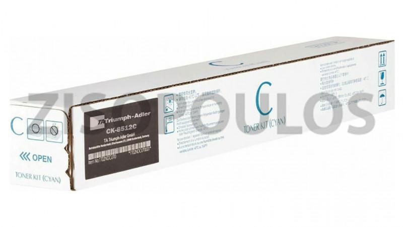 TRIUMPH ADLER TONER CK 8512 CYAN 1T02RLCTA1