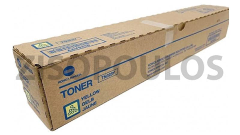 KONICA MINOLTA TONER TN 328 YELLOW AAV8250