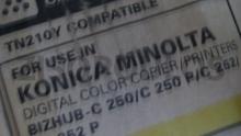KONICA MINOLTA  ΣΤΜΒΑΤΟ TONER TN 210 YELLOW 8938510