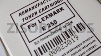 LEXMARK  Συμβατό Toner  E250A11A Black