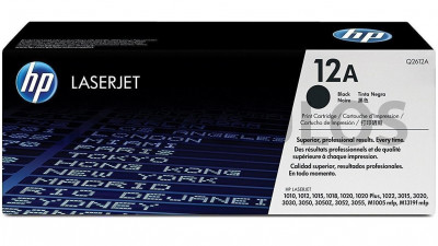 HP TONER Q2612A BLACK