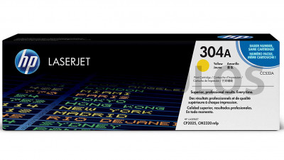 HP TONER CC532A YELLOW 304A
