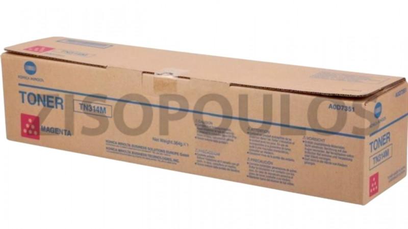 KONICA MINOLTA TONER TN 314 MAGENTA A0D7351