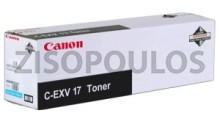CANON  Toner CEXV17 Cyan