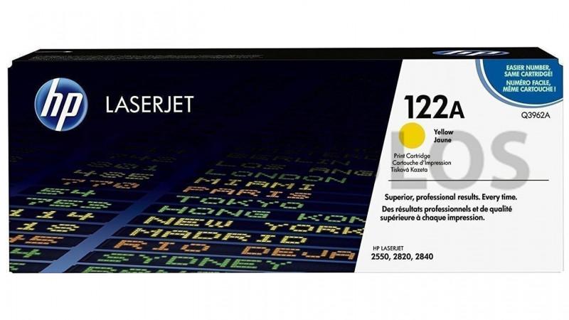 HP TONER 122A YELLOW Q3962A