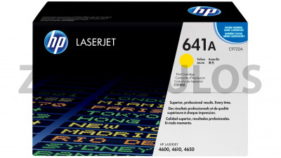 HP TONER CARTRIDGE C9722A YELLOW