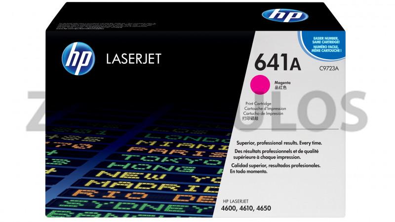 HP TONER CARTRIDGE 641A MAGENTA C9723A