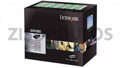 LEXMARK  Toner 12A6865 Black