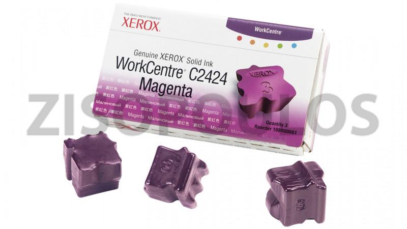 XEROX INK STICK 108R00661 MAGENTA 3 STICKS