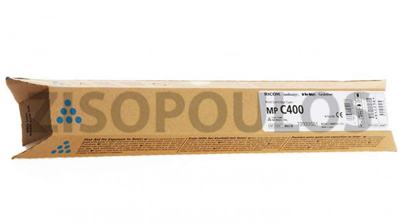RICOH TONER MPC 400 CYAN 841555