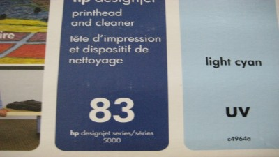 HP Printhead Light Cyan  UV DJ 5500