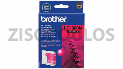 BROTHER  BROTHER LC1000M INK PRINT CARTRIDGE MAGENTA
