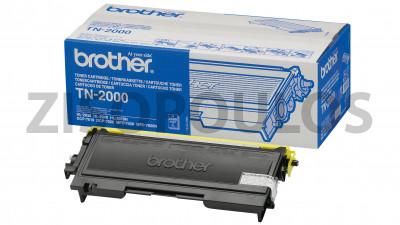 BROTHER  TONER CARTRIDGE TN 2000 BLACK