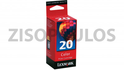 LEXMARK  20 Color INK Cartridge