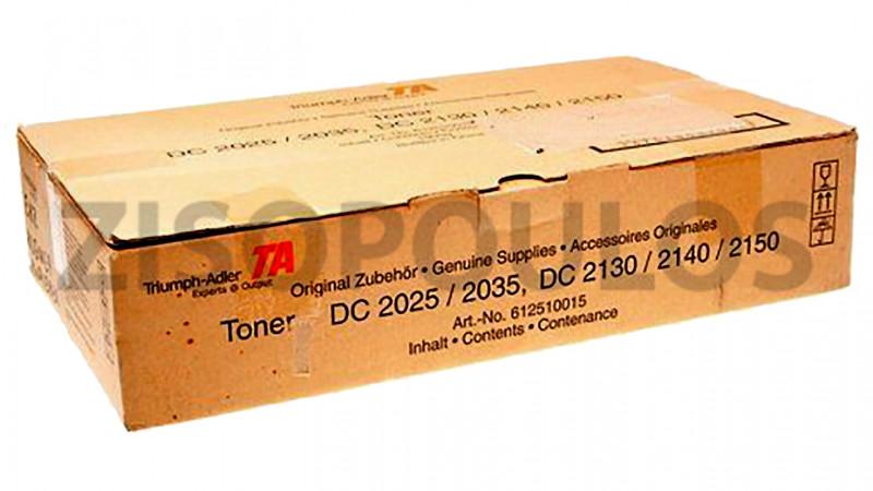 TRIUMPH ADLER TONER DC 2025/2035/2130/2140/2150 BLACK 612510015