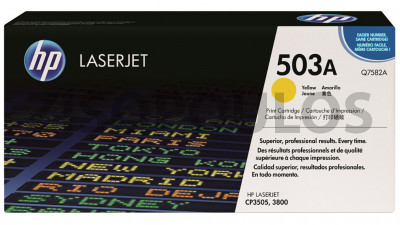 HP TONER Q7582A YELLOW