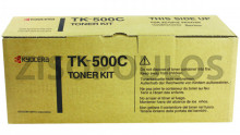 KYOCERA  Toner  TK 500 Cyan